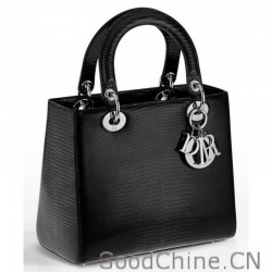 Christian Dior Lady Dior Mini Classic Tote Bag With Lambskin Black a22da3792d399