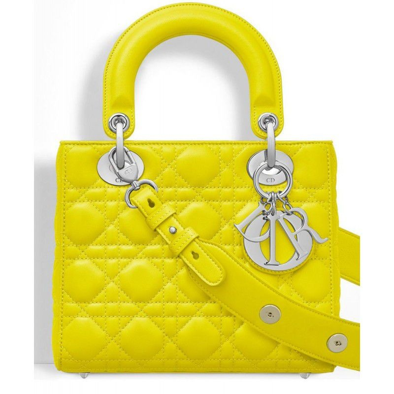 Replica Dior Lady Dior Bag Yellow Outlet Online Sale bdd4e5d2579ba