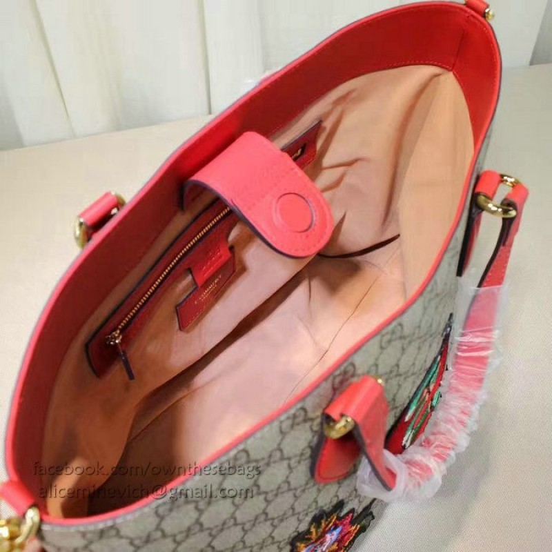 5b48ab2eb18 Replica Gucci Limited Edition Soft GG Supreme Tote Bag 453705 Outlet ...