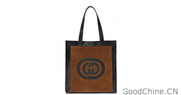 008b11db363 Replica Gucci Ophidia suede large tote 519335 Black Outlet Online Sale