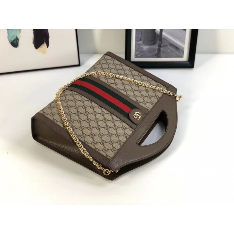 3e1156dcb34c Replica Gucci Ophidia Medium Top Handle Tote Bag 512957 Outlet ...