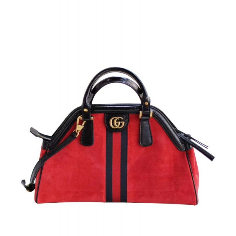 531a350291ce Replica Gucci RE(BELLE) medium top handle bag 516459 Red Outlet ...