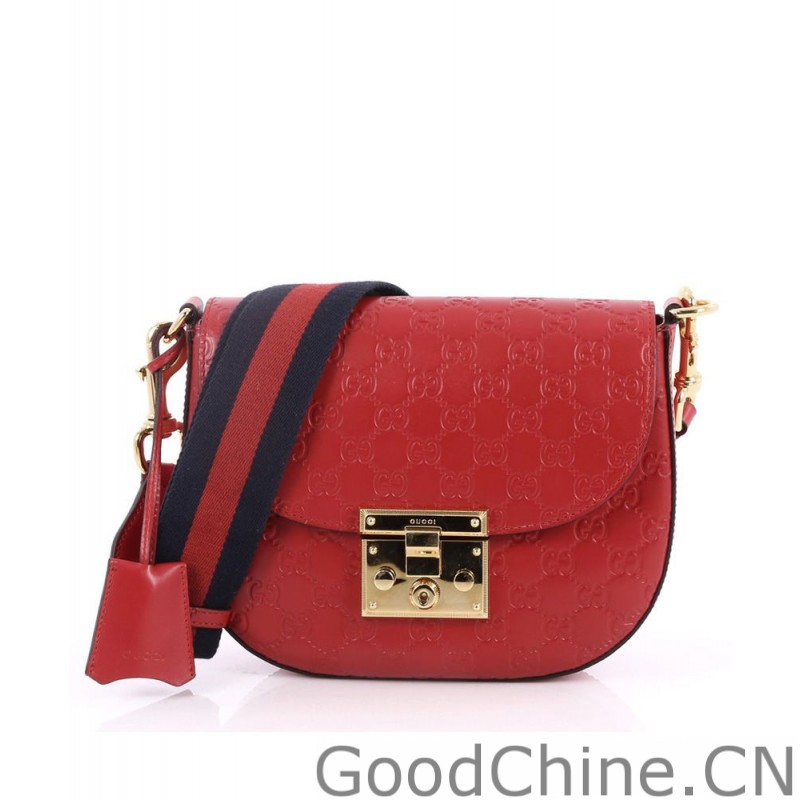 cce322f39df Replica Gucci Padlock Gucci Signature leather shoulder bag 453189 ...
