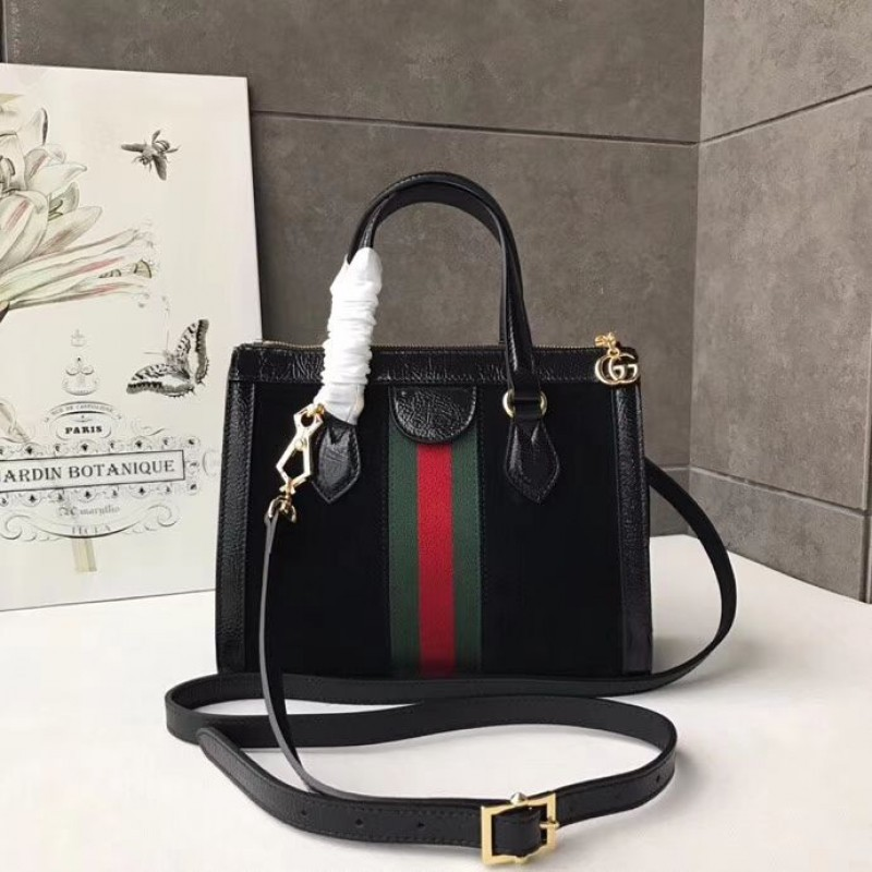 1d06495105e Replica Gucci Ophidia Small GG Tote bag 547551 Black Outlet Online Sale