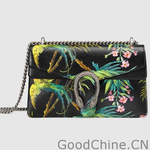 d0a824e3403 Replica Gucci Dionysus Tropical Print Shoulder Bags 400249 DLP1N ...