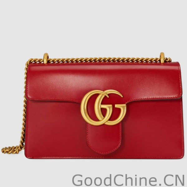 237f5bd69cd Replica Gucci GG Marmont Leather Shoulder Bags 431777 CDZ0T 6433 ...