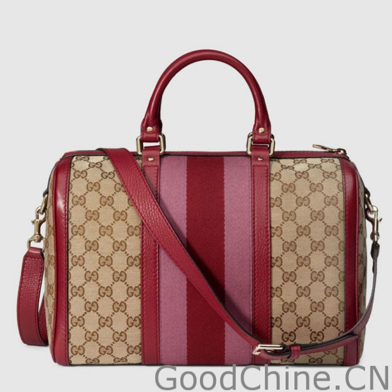 421dbae8fa ... Gucci Vintage Web Original GG Canvas Boston Bags 247205 F4CKG 9794 ...