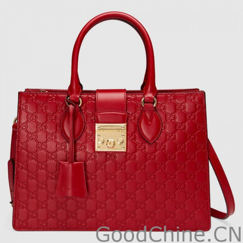d8714090009 Replica Padlock Gucci Signature Top Handle Bags 428207 CWC1G 6433 ...