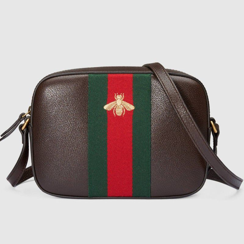 f17b3116036 Replica Gucci Leather Shoulder Bags 412008 CWG3T 2076 Outlet Online Sale