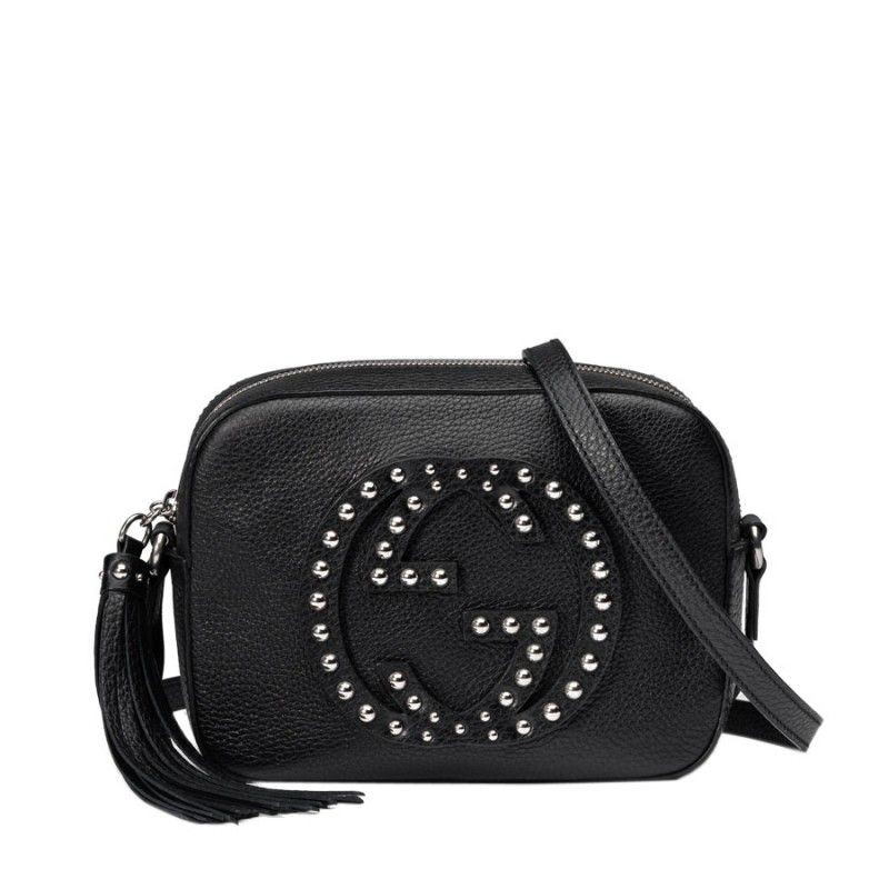 9c9a9962000 Replica Gucci Soho Studded Leather Disco Bags 308364 A88EN 1000 ...