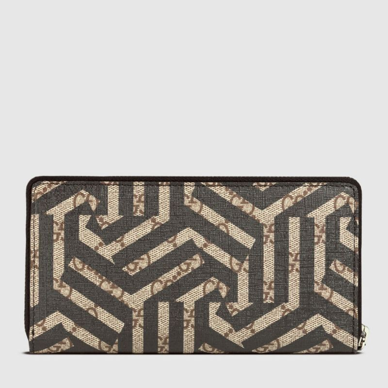 591dff29e03 Replica Gucci GG Caleido Zip Around Wallets 411766 KVW1N 9769 Outlet ...