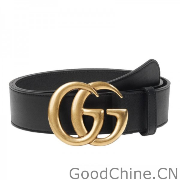 93fbbad402a Replica Gucci Leather Belts With Double G Buckle 397660 AP00T 1000 ...