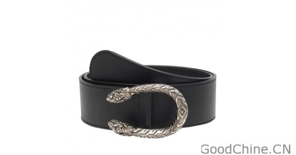 4a8a027a642 Replica Gucci Leather Belts With Tiger Head Buckle 400592 AP00N 1000 Outlet  Online Sale