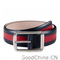 1ac55351d17 Gucci Multicolor Leather Belts With Rectangular Buckle 295331 BTT5N 8497