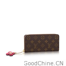 10032aa9ea48df Replica Louis Vuitton Zippy Wallet Monogram Canvas M62413 Outlet ...