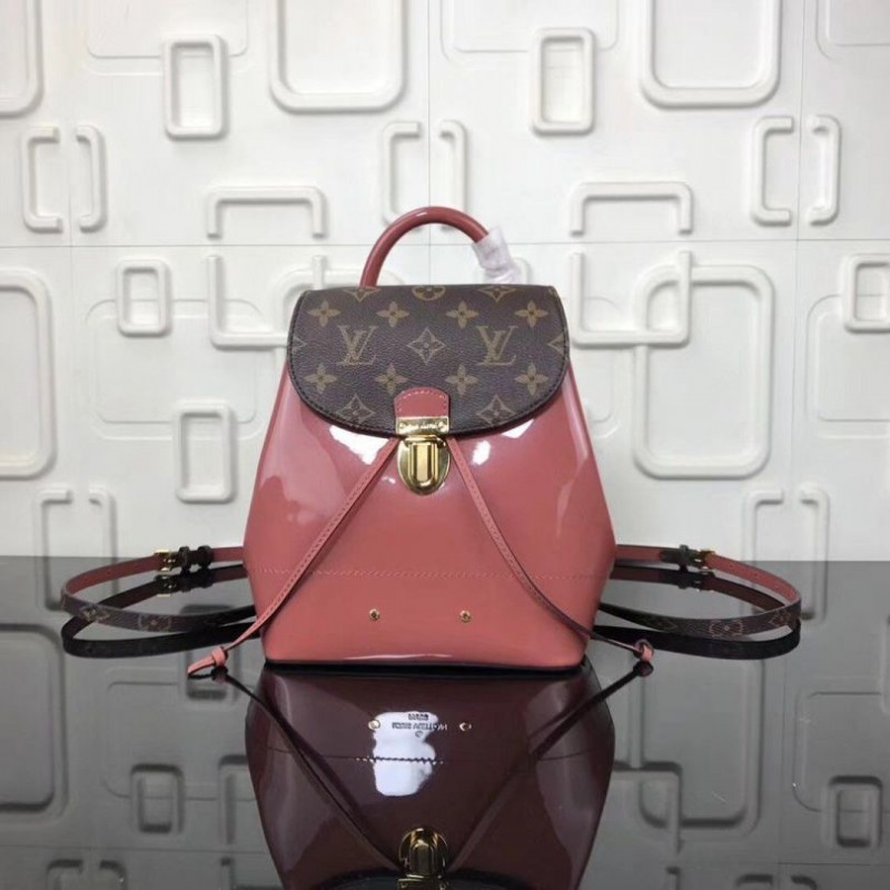 ca8a9b8f8760 Replica Louis Vuitton Vert Bronze Hot Springs Backpack M53545 Outlet ...