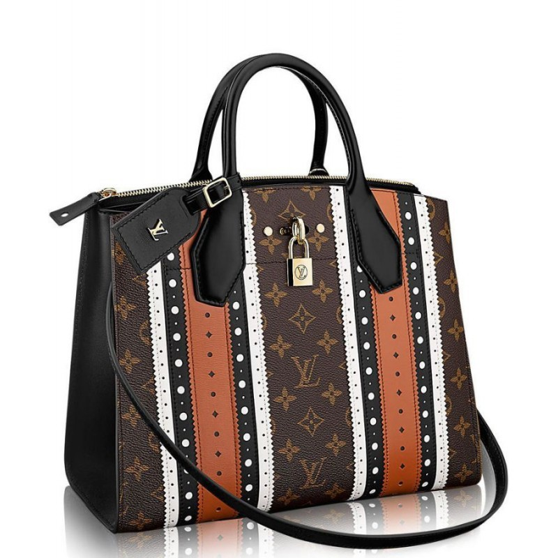 74872216e698 Replica Louis Vuitton City Steamer MM M43493 Fawn Outlet Online Sale