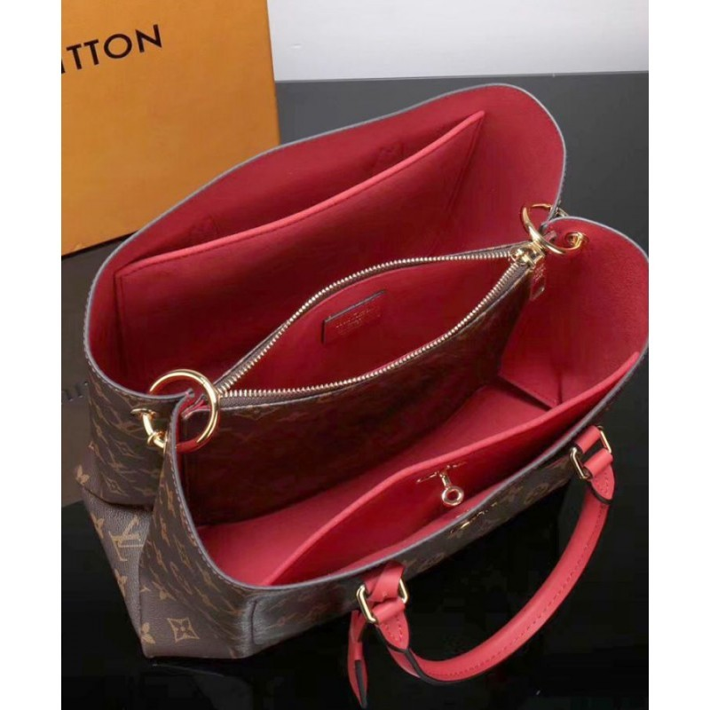 88b81a1e7196 Replica Louis Vuitton Flower Tote Monogram Canvas M43553 Red Outlet ...