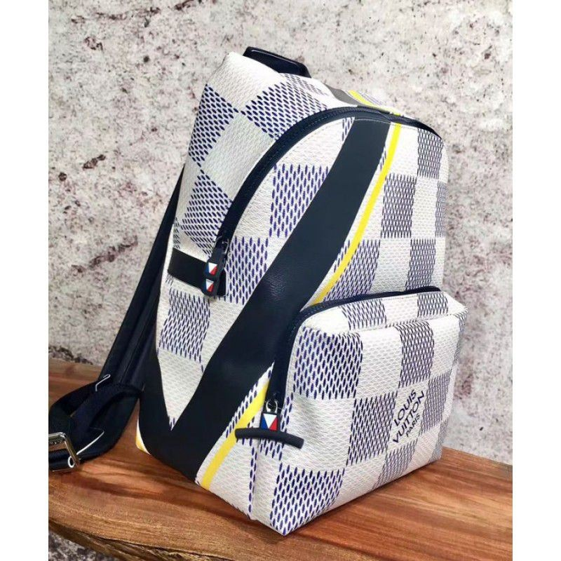 311c999fd535 Replica Louis Vuitton Apollo Backpack N44017 White Outlet Online Sale