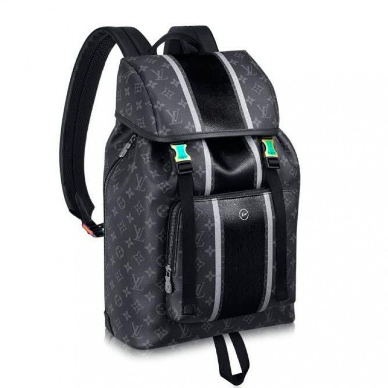 e7e4efb033a3 Replica Louis Vuitton Zack Backpack Monogram Eclipse Flash M43409 ...