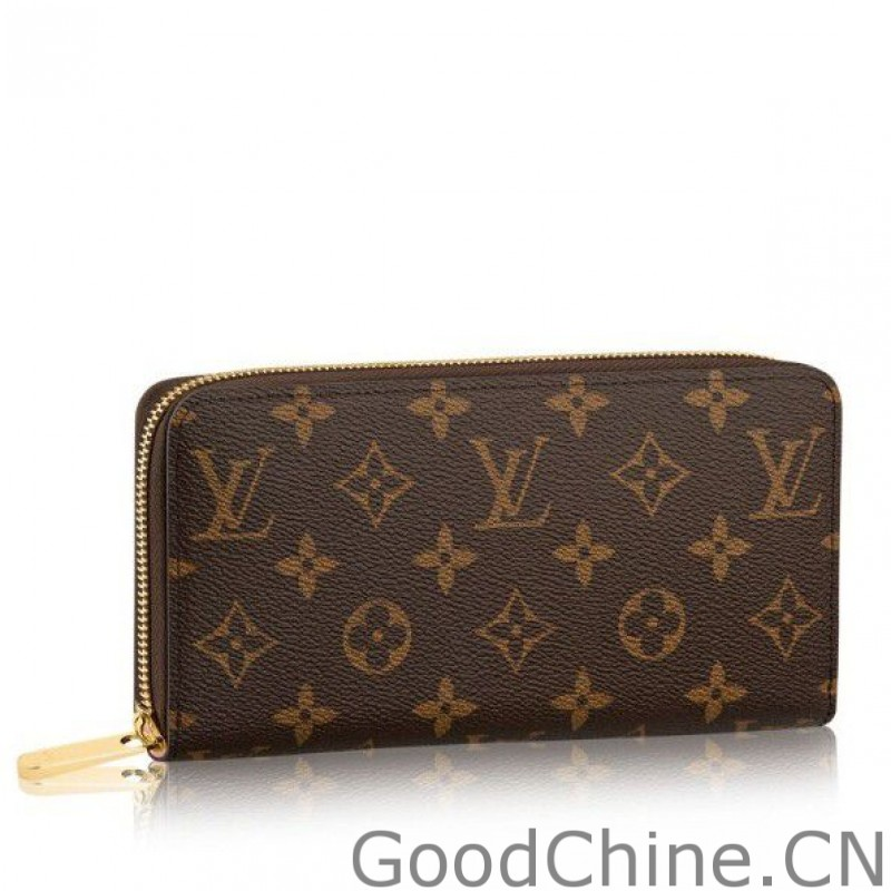 fe8200cfc8476 Replica Louis Vuitton Zippy Wallet Monogram Canvas M41894 Outlet ...