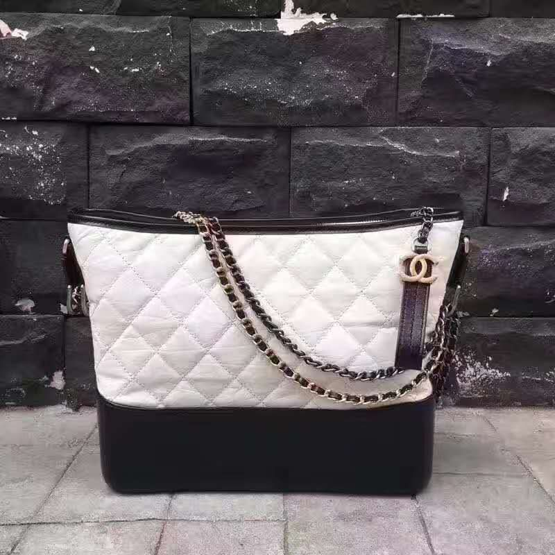 ab81a5c81f2c Replica Chanel Gabrielle Hobo Bag A91810 A93824 White Outlet Online Sale