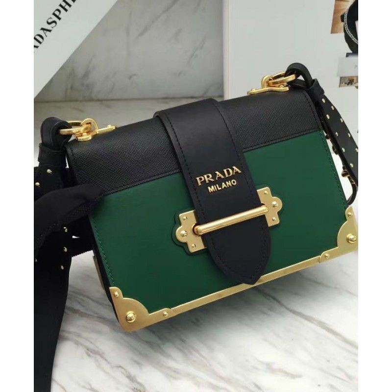 32c61c2cb85a18 ... discount code for prada cahier bag 1bd045 green d59be e40ce ...